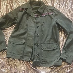 Forever 21 small utility jacket
